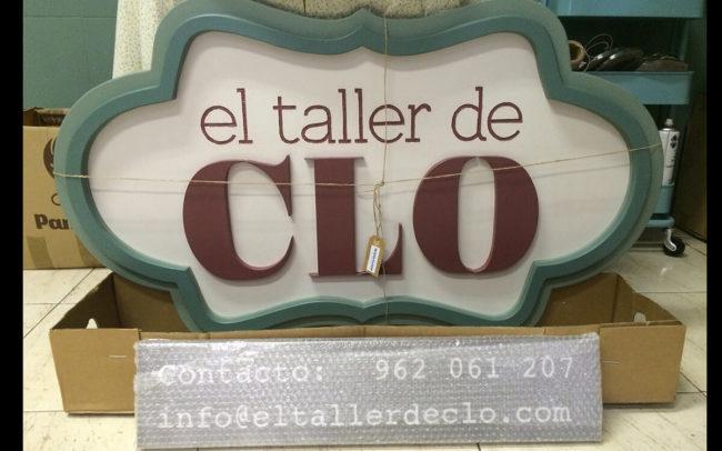 cartel El taller de Clo