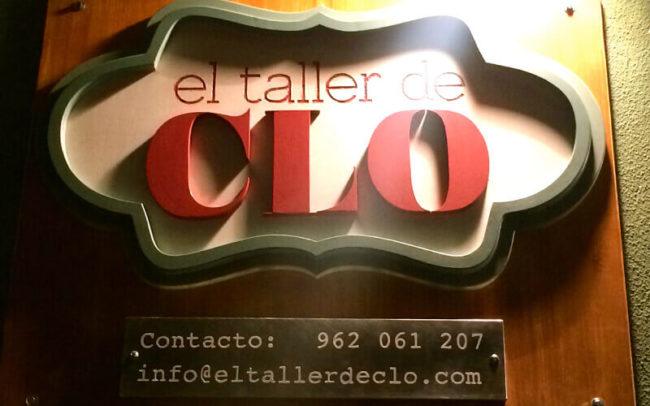 Cartel logo El taller de CLO