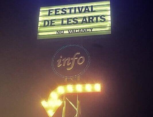 Poste carteles Festival de les Arts