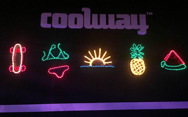 Carteles luminosos para el Stand de CoolWay
