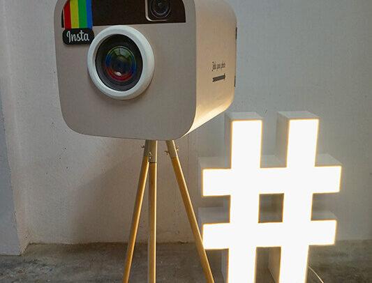 Fotomatón-Caja de Instagram